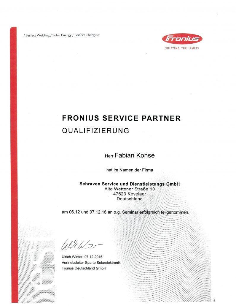 Fronius Service Partner