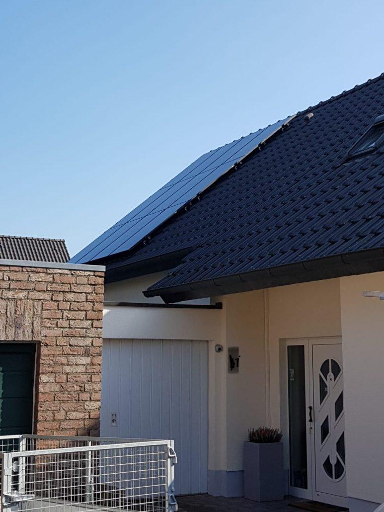 Solarpanels in Kleve