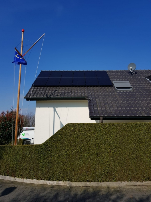 Solarpanels in Kleve